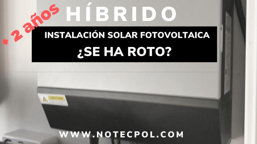 Inversor solar hibrido